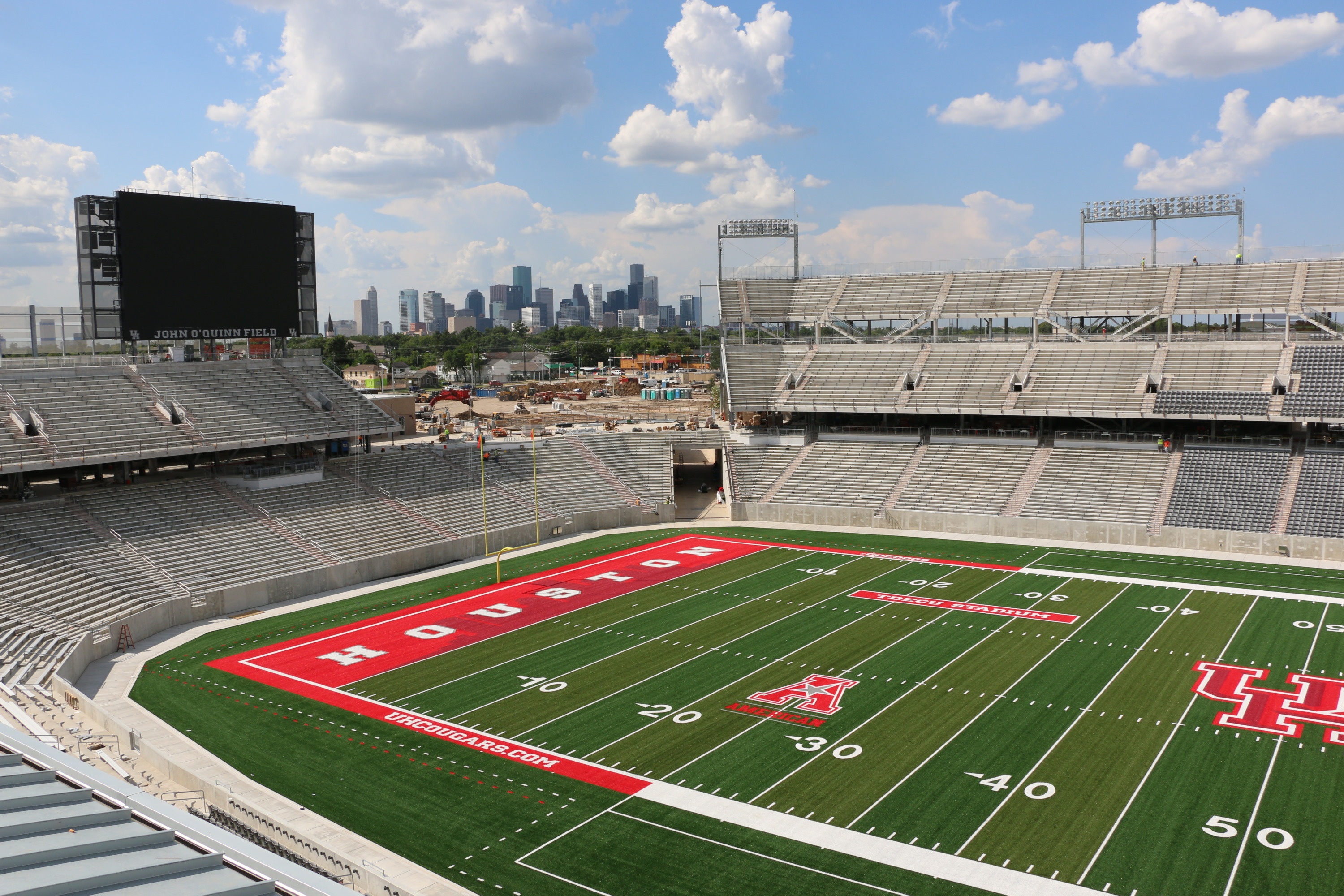 The University Of Houston >> Tdecu Stadium Construction Faqs University Of Houston