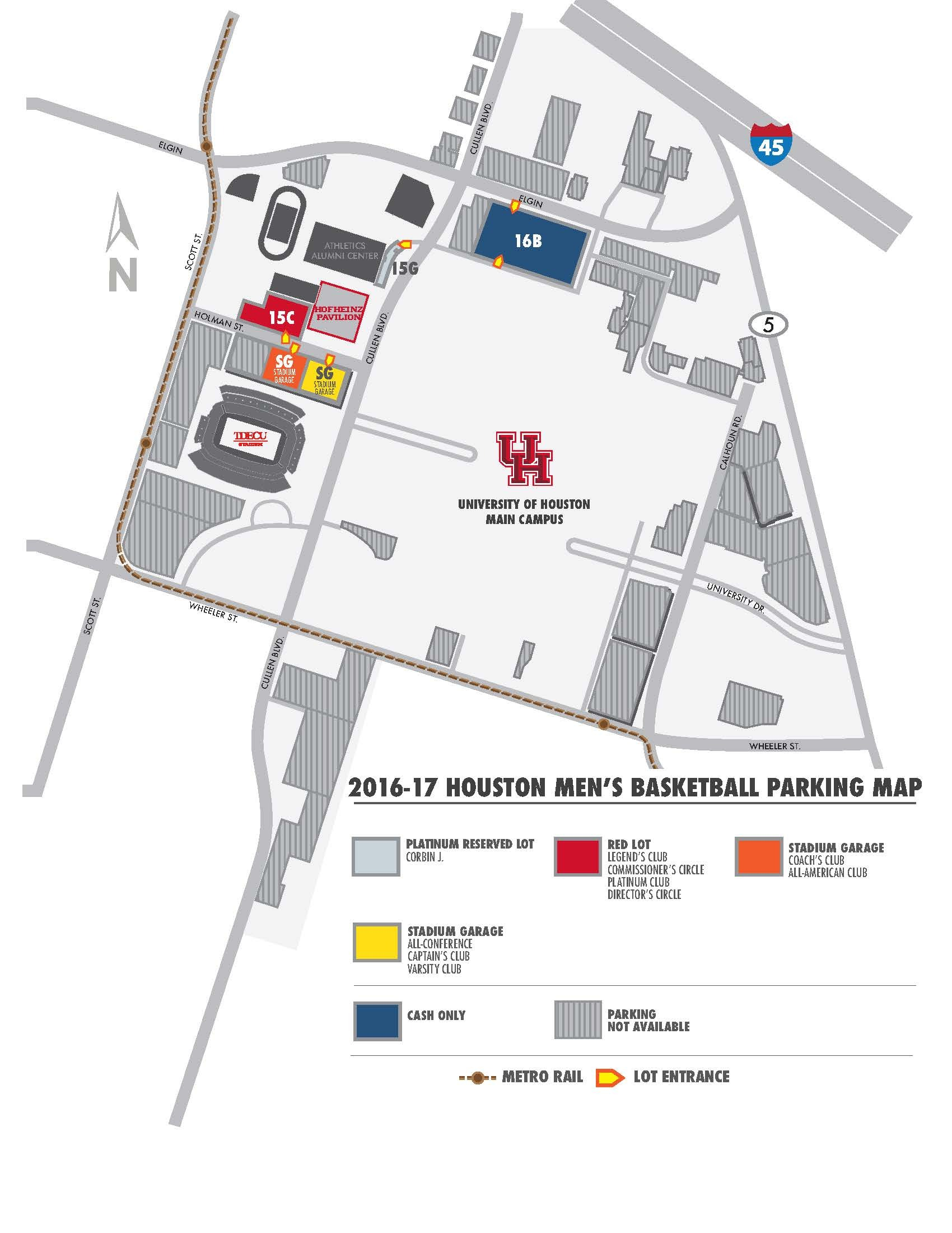 2016-17 Men's Basketball Parking Information - University of ... on ro map, cal state fullerton map, university of hawaii map, uz map, fa map, rice university parking map, the kentucky map, u of h campus map, fsu college map, uq map,