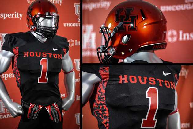 info for ad532 aaabd Houston Unveils Black Halloween Uniforms - University of ...