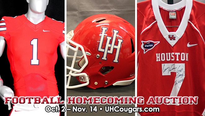brand new e3f73 76f00 Football Homecoming Jerseys, Helmets to be Auctioned Off ...