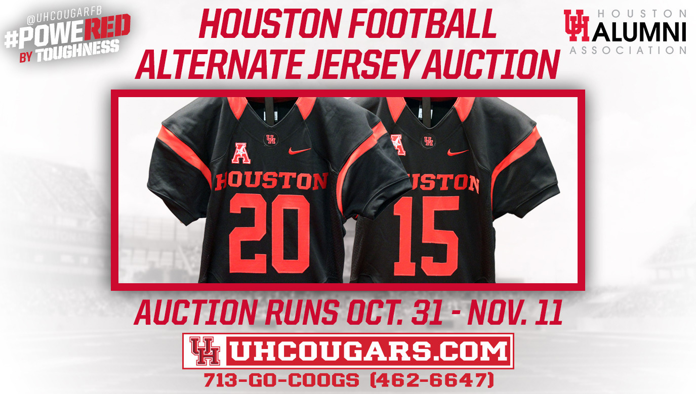 promo code 898ac f4c51 Football Commemorative Jersey Auction Now Live - University ...