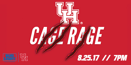 Cage Rage Set for Friday, August 25 - University of Houston