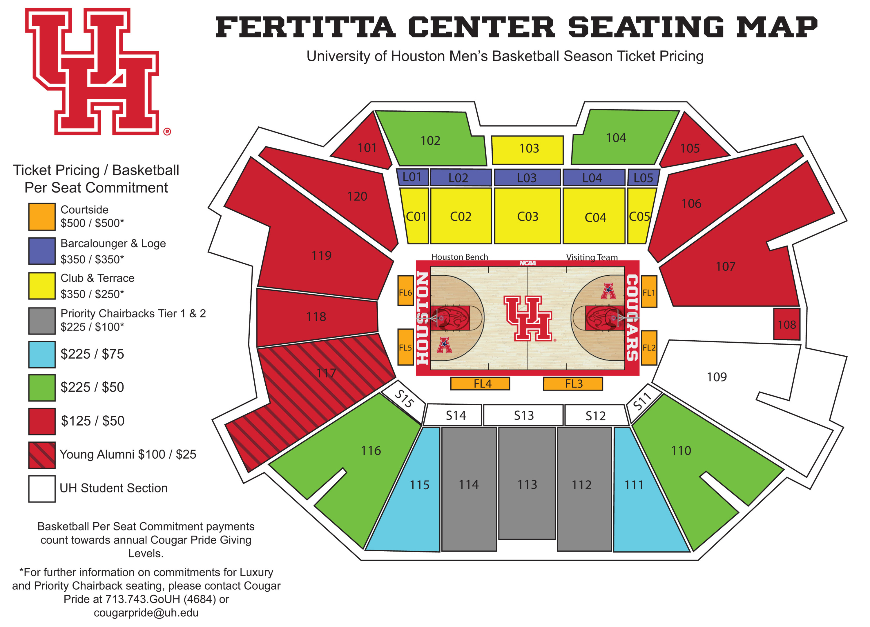 Fera Center Season-Ticket Pricing - University of ... on york college campus map, uhv campus map, main campus map, st campus map, va campus map, ul campus map, jd campus map, phoenix college campus map, uhd campus map, unh campus map, ge campus map, hawaii campus map, fh campus map, uhcl bayou building map, u of h map, ma campus map, uk campus map, honolulu community college campus map, morehead campus map, uw campus map,