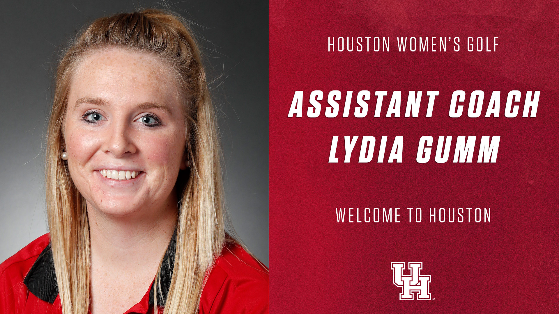 b06922a62d HOUSTON – Former Florida State standout Lydia Gumm will join the University  of Houston Women's Golf Program as an assistant coach beginning with the  2018-19 ...