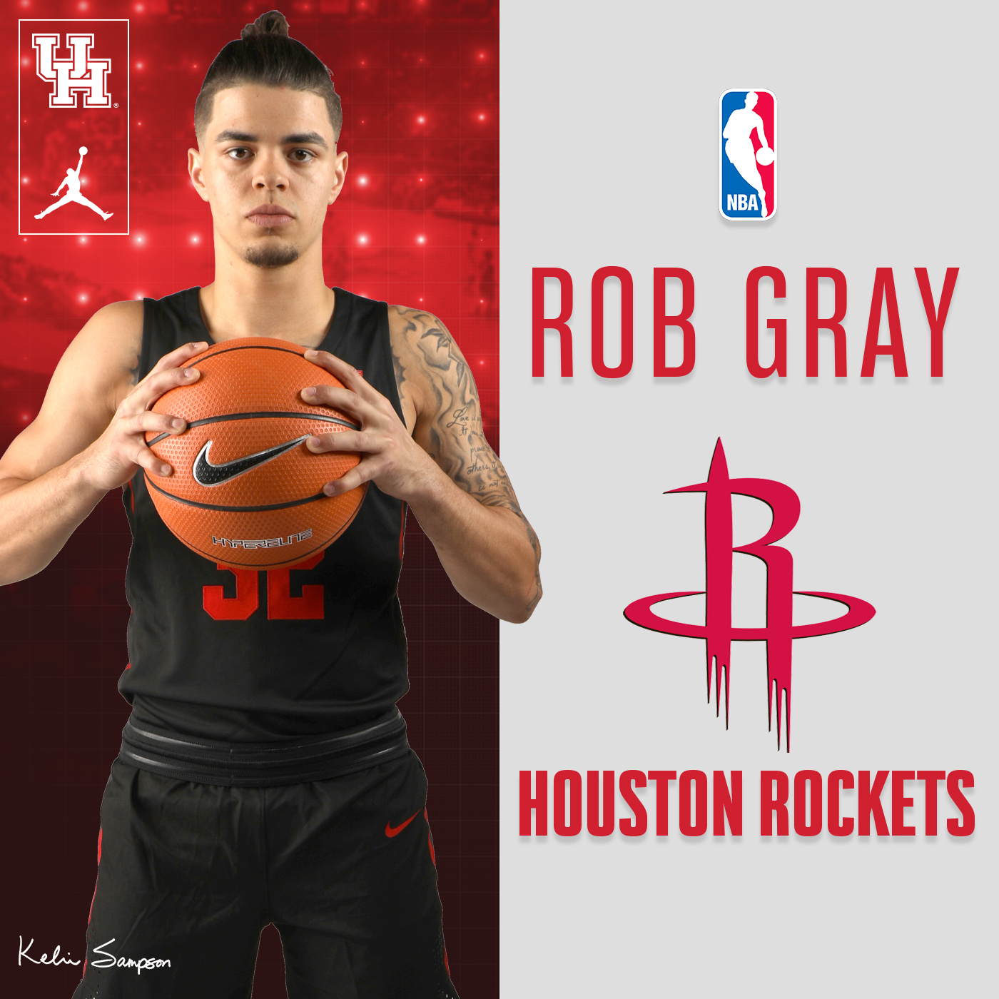9738a72b820532 Rob Gray Signs with Houston Rockets - University of Houston Athletics